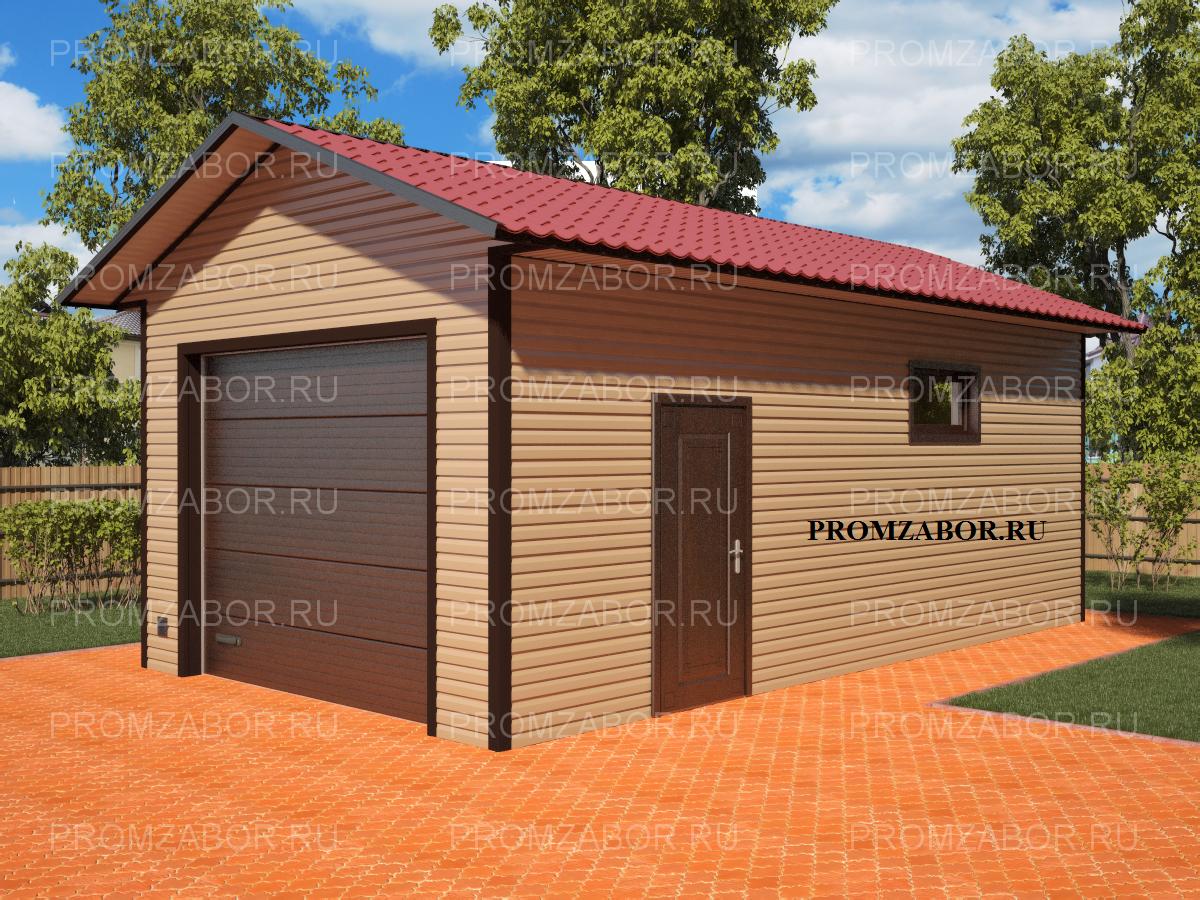 Строительство ангара гаража