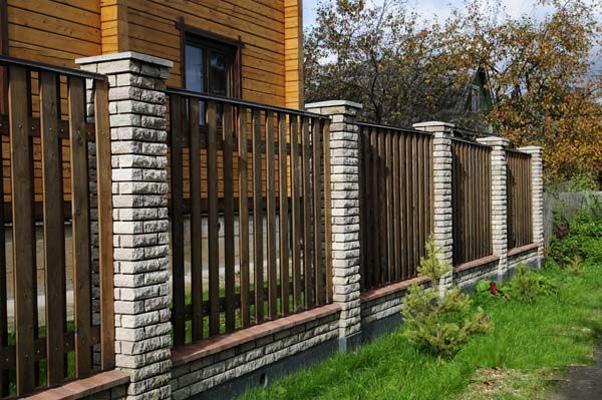 Купить забор из дерева в Минске